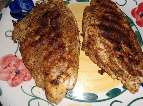 Grilled Seasoned Catfish Filets