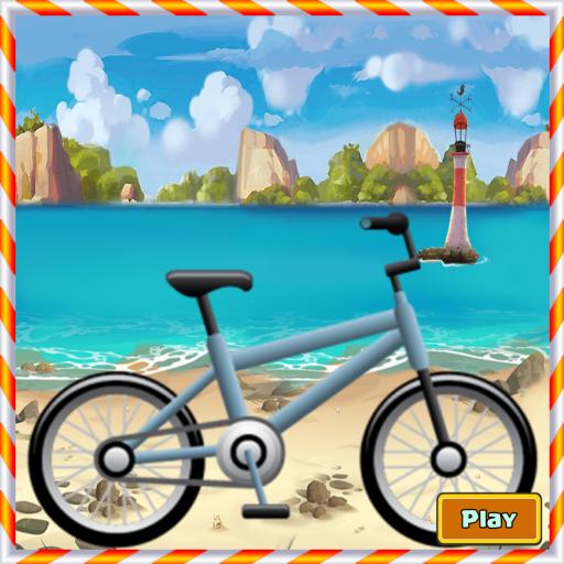 Seaside Bike Racing