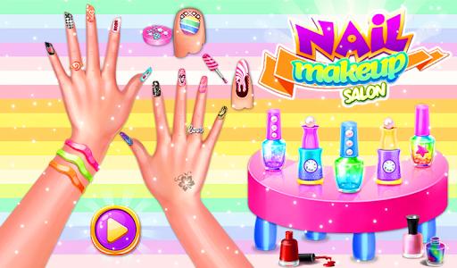 Nail makeup Kit: Fashion doll girls games 2020 apkdebit screenshots 6