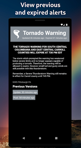 Severe Weather Alerts 1.73 screenshots 4