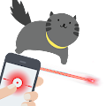 Laser for cat. Toy kitten VR