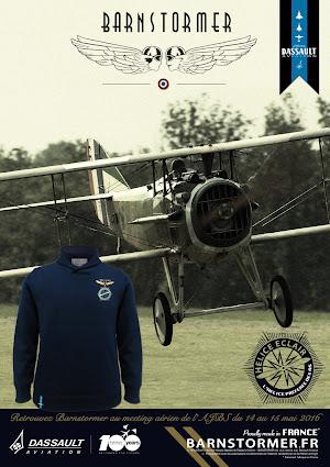 dassault aviation hélice éclair pull barnstormer