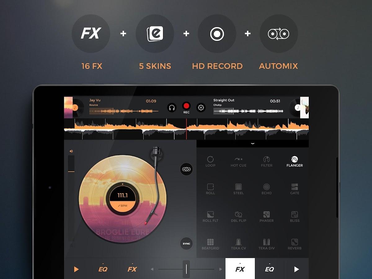 edjing 5 DJ Music Mixer Studio- screenshot