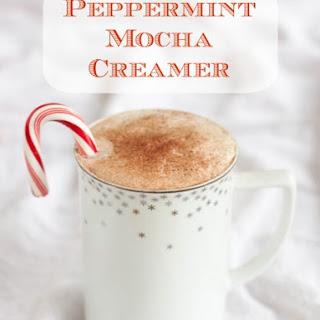 DIY Peppermint Mocha Creamer