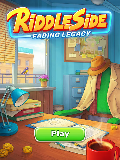 Riddleside: Fading Legacy - Detective match 3 game screenshots 14