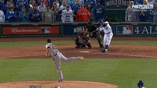 2014 World Series Game 2: Giants at Royals