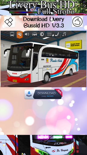 Livery Bus HD Full Strobo 1.0 screenshots 5