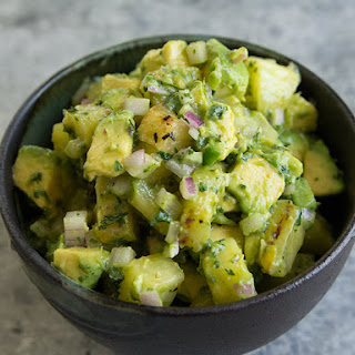 Grilled Pineapple Salsa with Avocado