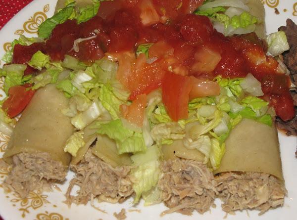 Shelia's Tex-mex Chicken Taco's Recipe