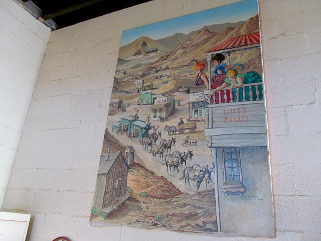 Painting inside the Ballarat store