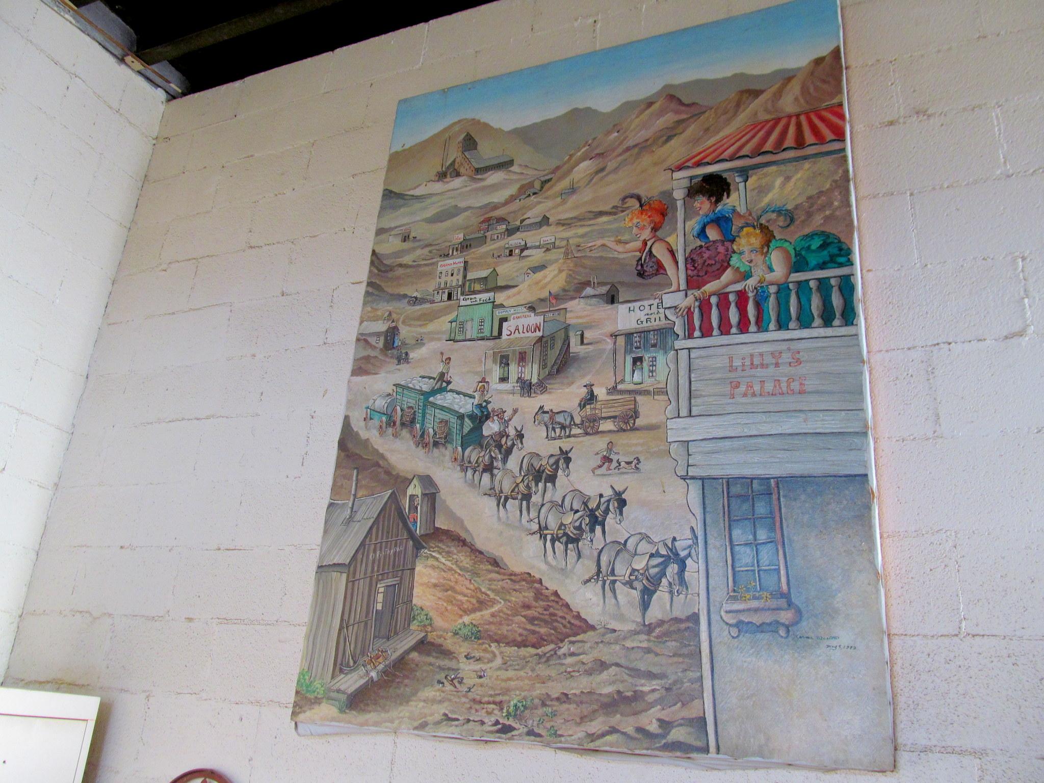 Photo: Painting inside the Ballarat store