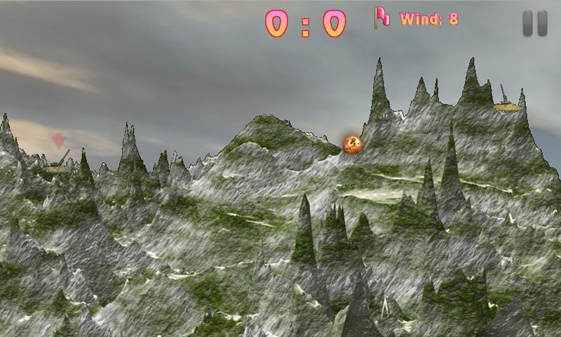Скриншот Artillery Duel