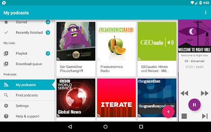 uPod Podcast Player Screenshot 15