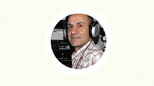 Francisco Montoya y su labor en la radio más cercana