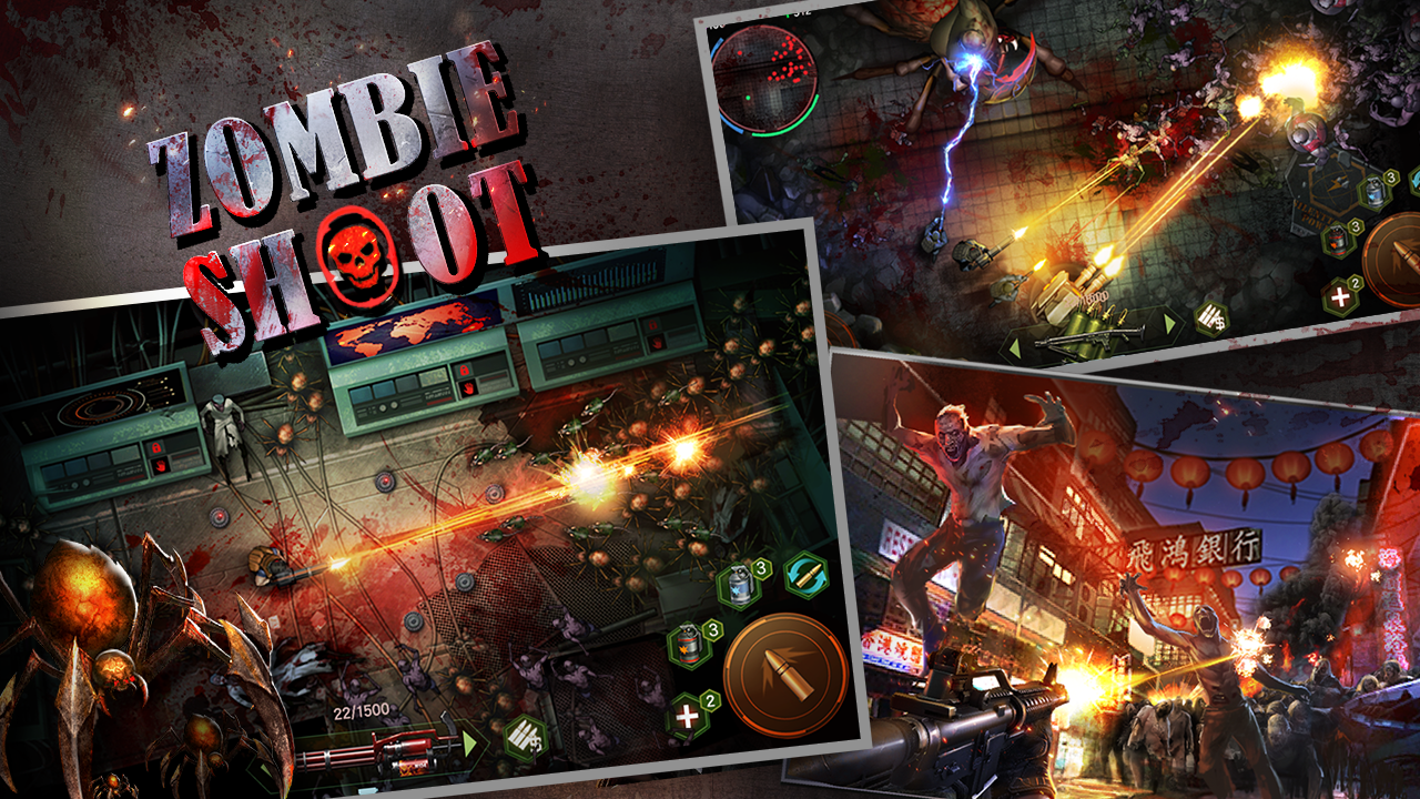 Zombie Shooter:Pandemic Unkilled- screenshot