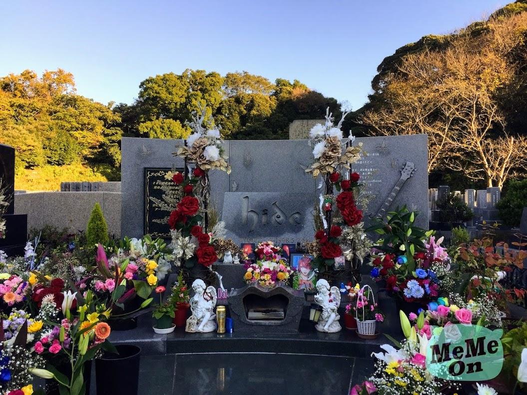 日本搖滾永恆傳奇朝聖之旅 — hide 三浦靈園