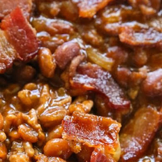 Baked Beans With Molasses And Bacon Recipes.