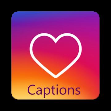Captions for photos