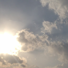 Cloudy Sun by Naseeb Ullah  Kakar - Nature Up Close Other Natural Objects
