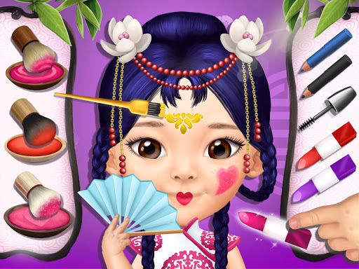 Pretty Little Princess - Dress Up, Hair & Makeup apkpoly screenshots 13