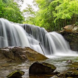 Mill Creek Falls by Kim Wilhite - Landscapes Waterscapes ( waterfalls, mill creek falls, waterscape, west virginia, landscape )