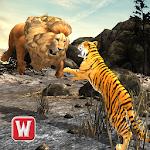 Lion Vs Tiger 2 Wild Adventure Icon