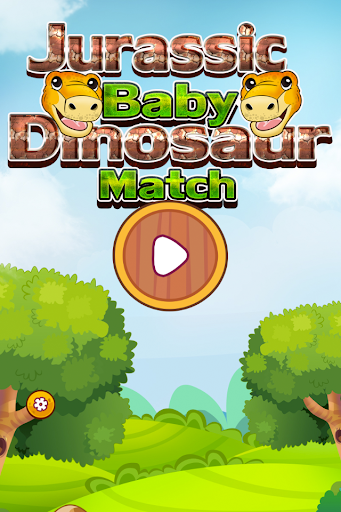Jurassic Baby Dinosaur Match