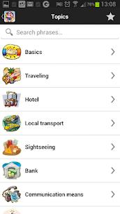 Travel Interpreter Phrasebook 3.2.5 Android Mod APK 2