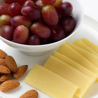 Cheese, Nut and Fruit Plate.