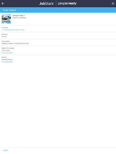 (APK) تحميل لالروبوت / PC JobStack | Customer تطبيقات screenshot