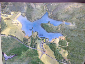 Photo: Map of the Larger Lake
