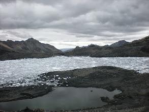 Photo: Ice lake!