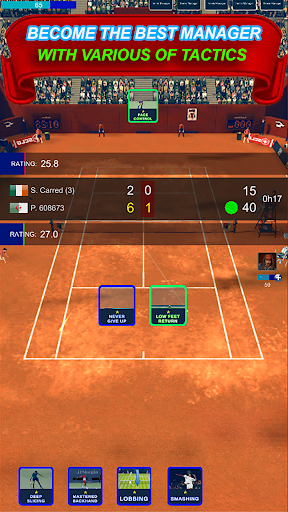 World Tennis Game Breakers  captures d'écran 1