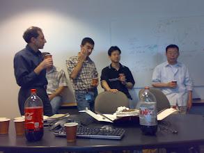 Photo: 22 Mayıs 2008 - SanDisk doğumgünüm. Tahta da kesin çok gizli bilgiler var.