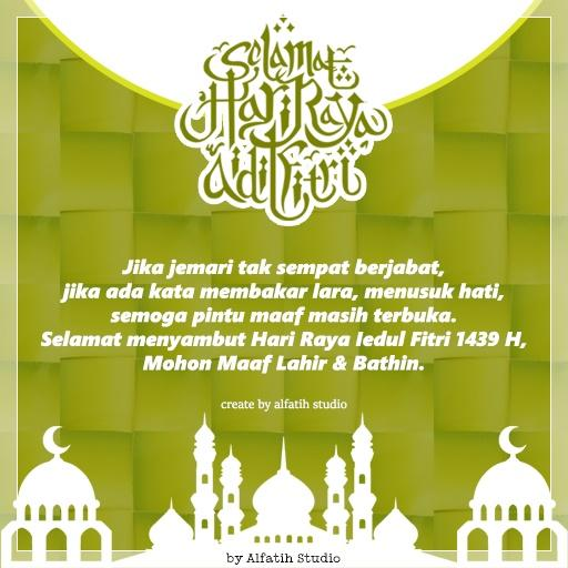 Download Gambar Ucapan Selamat Hari Raya Idul Fitri 1439 H Nusagates