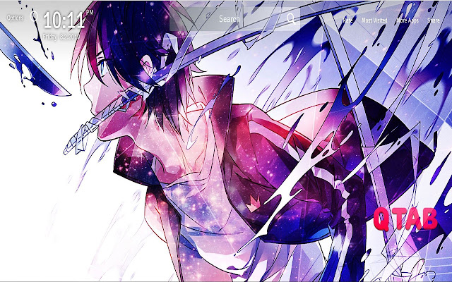 Noragami Wallpapers Theme Anime New Tab
