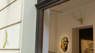 Photo: CityLeaks 2015; Ausstellung Galerie 30Works; Thomas Baumgärtel aka BANANENSPRAYER & MISTER P