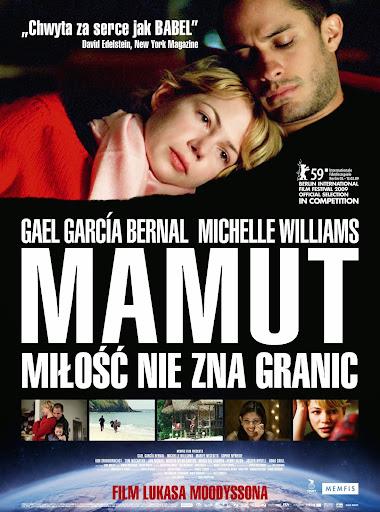 Polski plakat filmu 'Mamut'