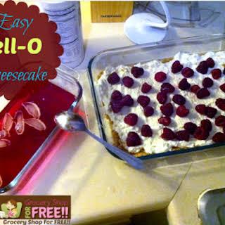 Easy Jell-O Cheesecake!.