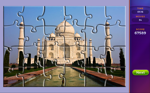 Jigsaw puzzles: Countries 🌎 screenshot 2