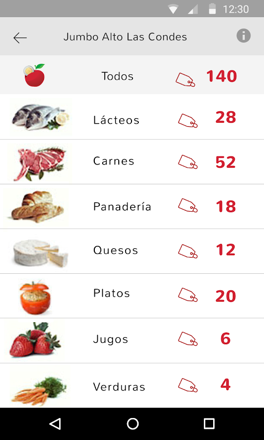 Ecomida- screenshot
