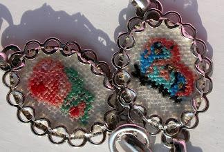 Photo: Rosa e farfallina