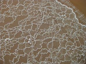 Photo: Кружево шантильи с кордом ш.150см.цена6000руб. Коллекция :Valentino