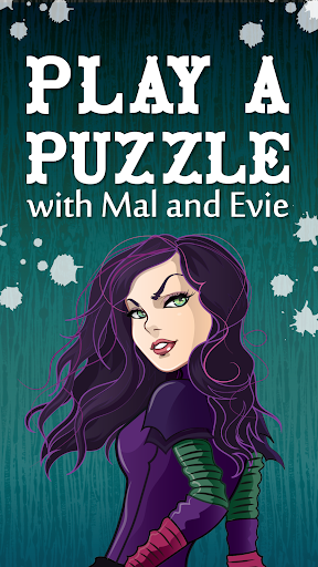 Puzzle with Mal and Evie