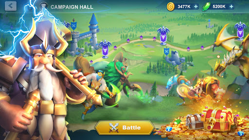 Idle War: Legendary Heroes apklade screenshots 1
