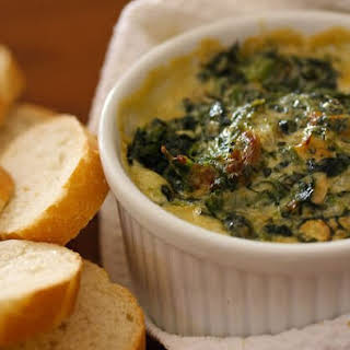 Warm Spinach Mascarpone Dip.