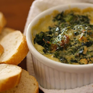 Warm Spinach Mascarpone Dip.