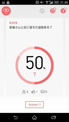 フルルグラフ~看護師のアンケートアプリ~