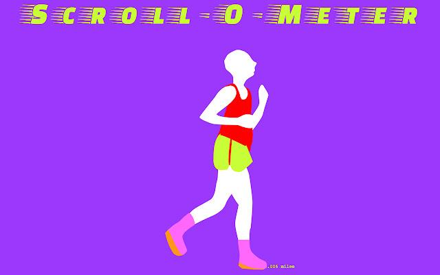 Scroll-O-Meter