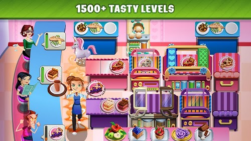 Screenshot 2 COOKING DASH 2.14.4 APK MOD